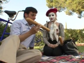 Mime bitch getting fucked