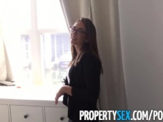 PropertySex - Captain of big boat bangs real estate agent at condo showing