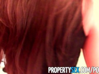 PropertySex - Sexy Asian real estate agent tricked into making sex video