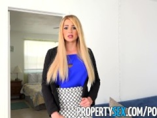 PropertySex - Vacation rental gone wrong turns into sex with busty agent