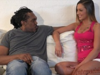 4K Cute Southern Girl barely takes biggest black cock ever!