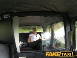 FakeTaxi Hot blonde police woman in taxi revenge