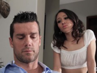 All Natural Petite Babe Jasmine Grey Gets Impaled By A Hard Cock