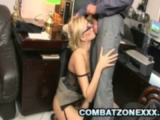 Donna Bell - Blonde Secretary Fucked By Her Boss