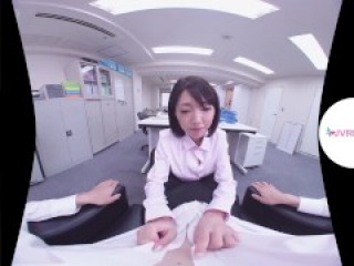 Your Colleague come to give you a special breakfast. Japanese Girl VR Porn