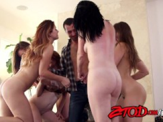ZTOD - James Deen and 5 Girls