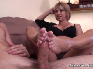 Brianna's Son's Friend - FootJob