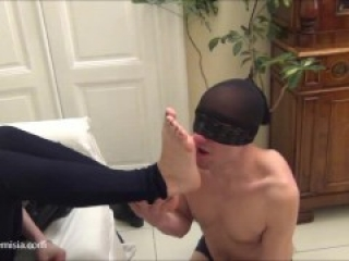 Cheesy Young & Mature Italian Footworship