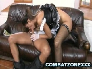 Defrancesca Gallardo - Horny Euro Maid Satisfying Her Old Boss