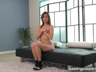 CastingCouch - Gracie in Crazy Asian Camgirl Does Anal and Squirts All Over