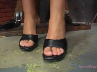Brooke Banner orders you to lick her feet and ass