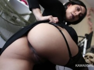 Little Wednesday Rides Nova The Breeder - Thick Booty Riding Creampie