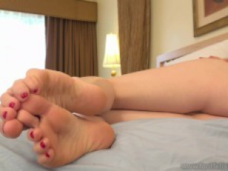 Penny Pax Toe-Teases Because She's A Nasty Slut. Oh, She Also Has Sexy Feet