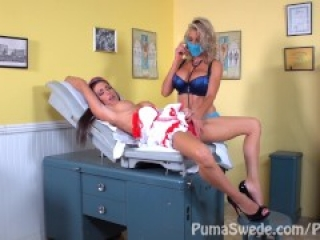 DD Doctor & Nurse?!! Puma Swede & Jessica Jaymes with Nicole Aniston!!