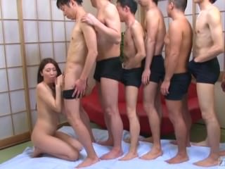 Subtitles Japanese Mona Takei blowjob lineup