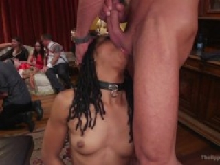 Unchained Slave Orgy