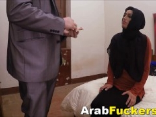 Genuine Middle Eastern Amateur Gets Mammoth Euro Cock