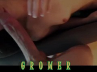 Amateur College Girl from Tinder never had a Monster White Cock (BWC)