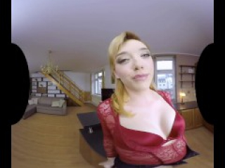 Anny Aurora is here again for more VR sex, let's get intimate!