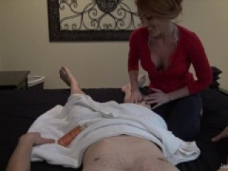 Masseuse Milks Clients Cock