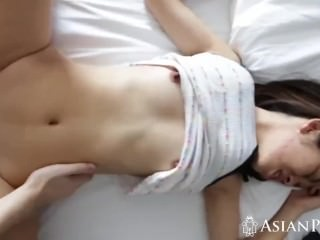 POV porn video with hot Asian babe